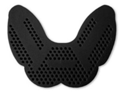 SISU 1.6 (Protech Dent) Mouth Guard Single Pack (Black) Roller Derby Mouthguard