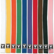 ProForce Thunder Double Wrap Solid Karate Belt - Green #4