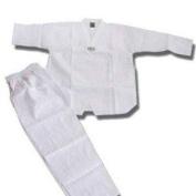 White 210ml Taekwondo Uniform, 000