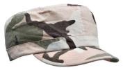 Subdued Pink Camouflage Vintage Adjustable Rip-Stop Cap
