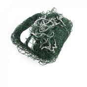Como 6M Length White Trim Braided Nylon Green Mesh Badminton Training Net