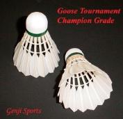 Genji Goose tournament Champion-Gold Shuttlecock