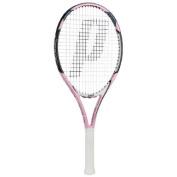 Prince Pink 25 Strung Tennis Racquet (0