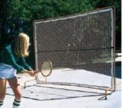 Courtmaster Deluxe Tennis Rebound Net and Frame, 9'W x 7'H
