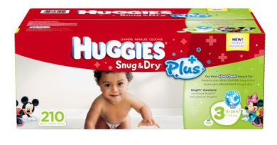 Huggies® Snug & Dry Plus Nappies Size 3: Pack of 210 Nappies