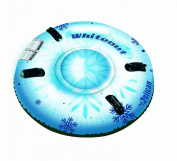 Pelican International Inflatable Whiteout Snow Tube - Blue/White