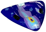 Pelican International Inflatable Meteor Snow Tube - Purple/Black/Blue
