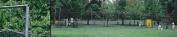 Backyard Net Batting Cage Frame for #1500 or #2100 Knotted Nylon Net