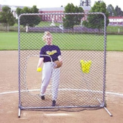 Jugs Quick-snap Softball Screen with Ball Pouch, 6 - Feet