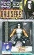 WCW Bruisers Sting with Baseball Bat & Steel Frame Action Winch