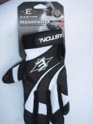 Easton Rampage Batting Glove Black/White Adult Large
