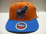 NCAA California State Fullerton Titans Orange Logo 2 Tone Retro Snapback Cap