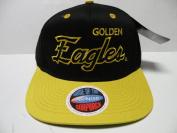 NCAA Southern Mississippi Golden Eagles Script Black 2 Tone Snapback Cap