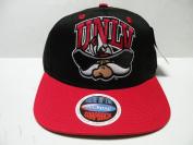 NCAA Nevada Las Vegas UNLV Rebels Black Red 2 Tone Snapback Cap