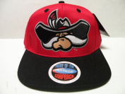NCAA Nevada Las Vegas UNLV Rebels Logo Red 2 Tone Snapback Cap