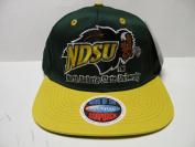 NCAA North Dakota State Bison Green Yellow 2 Tone Snapback Cap