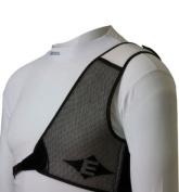 Easton Chest Guard Black/White LH X-Large