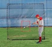Trend Sports Scorpion Soft Toss Pitching Machine and King Kong 7' x 8' Net