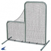 Pitcher's Safety L-Screen - 7'x7' w/ 101.6cm Drop