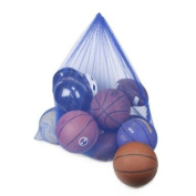 Blue Coaches' Equipment Bag in Heavy Duty Mesh by Crown Sporting Goods