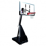 Spalding Portable Basketball System - 152.4cm Aluminium Trim Acrylic Backboard