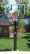 Collegiate Pro Jam Basketball System with Acrylic Backboard