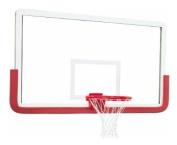 Outer Limit Pro Glass Backboard w Aluminium Frame
