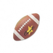 Champion Sports : Football, Rubber/Butyl, 30.5cm , Brown -:- Sold as 2 Packs of - 1 - / - Total of 2 Each