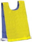 Champion Sports Adult Reversible Pinnie - Blue/Yellow