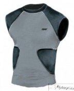 Bike multi sport compression shirt with integrated pads BYRS50 NEW Youth L