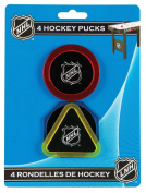 Regent-Halex Replacement Hockey Pucks (Pack of 4), Multi-Colour, Small