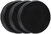 A & R Sports Ice Hockey Practise Pucks, Black - 3 Pack