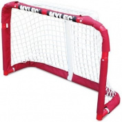 Mylec Pro Style Mini Steel Hockey Goal, Red