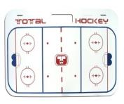 Proguard Hockey Handle Board with Straps, 38.1cm x 61cm