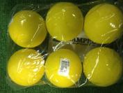 Champro Lacrosse Ball Yellow 6 Pack