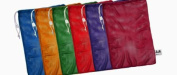 Champion Sports Heavy-Duty Mesh Bag, 60cm x 90cm , Assorted Colours, 6/Set