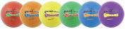 Champion Sports Super Squeeze Soccer Ball Set, 20cm Diameter, Assorted Colours, 6/Set