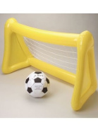 Large 114.3cm Inflatable Soccer Goal Net and Ball