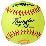 Dudley ASA Thunder SY 30.5cm (.47) Fast Pitch Softball - Synthetic Cover - Dozen
