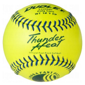 Dudley USSSA Thunder Heat Fast Pitch Softball - 12 pack