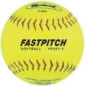 Markwort Fastpitch 30.5cm Softball Yellow Genuine Leather