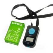 GOGO Digital Tally Counter, Add Counter, Hand Digital Counter Clicker, Church Counter