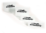 Stroops Three 15.2cm and Three 30.5cm White Stackable Hurdles, Set of Six