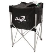 Baden Heavy Duty Volleyball Cart with Pocket - Black
