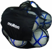 Molten Mesh Ball Bag, Holds up to 12 Soccer or Volleyballs