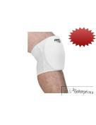 2 pair Bike low profile volleyball basketball knee pads White NEW BAVK80