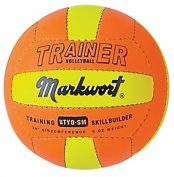 Markwort Light Weight Volleyball Trainers, Small 24.1cm , 140ml, Orange/Yellow