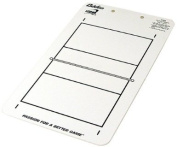 Baden Dry Erase Volleyball Game Board with Clipboard and Pen