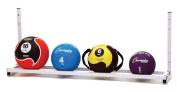Champion Sports Wall-Mount Medicine Ball Storage Rack