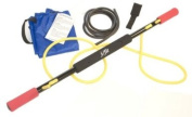 J Fit 20-3122 Exercise Bar with Resistance Tubing